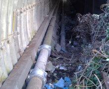 Riparazione su vecchia tubazione di un pozzo con l'utilizzo di Giunti Giubò