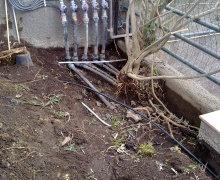 Collettore con Elettrovalvole per impianto irrigazione automatizzato