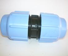 Manicotto per tubo in Polietilene dal PN4 al PN16. Diametro da 16 a 110