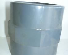 Manicotto PVC filettati