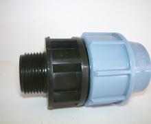 Raccordo per tubo in Polietilene dal PN4 al PN16. Diametro da 16 a 110