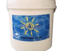 Riduttore di pH in granuli per piscina
