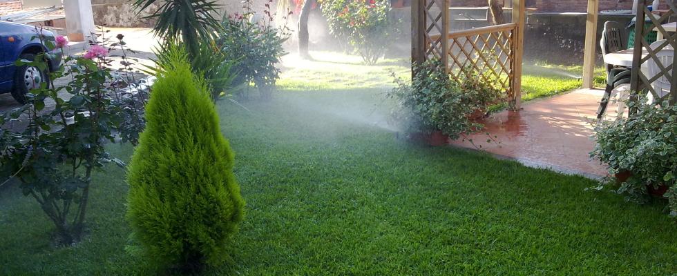 Impianto irrigazione con Pop-Up